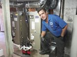 Two new Custom installed complete duct system heating and air conditioning heat pump systems